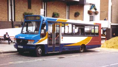 Bus Zone Stagecoach In Oxford 2001