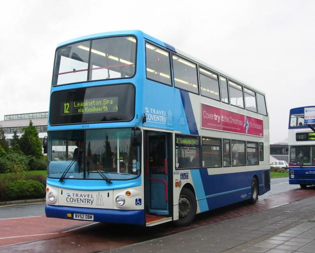 Bus Zone Travel Coventry