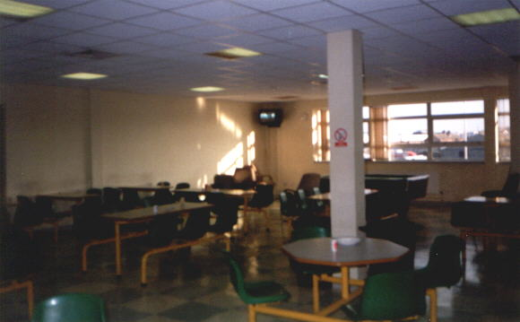 Staff Canteen in January 2000 (26027 bytes)
