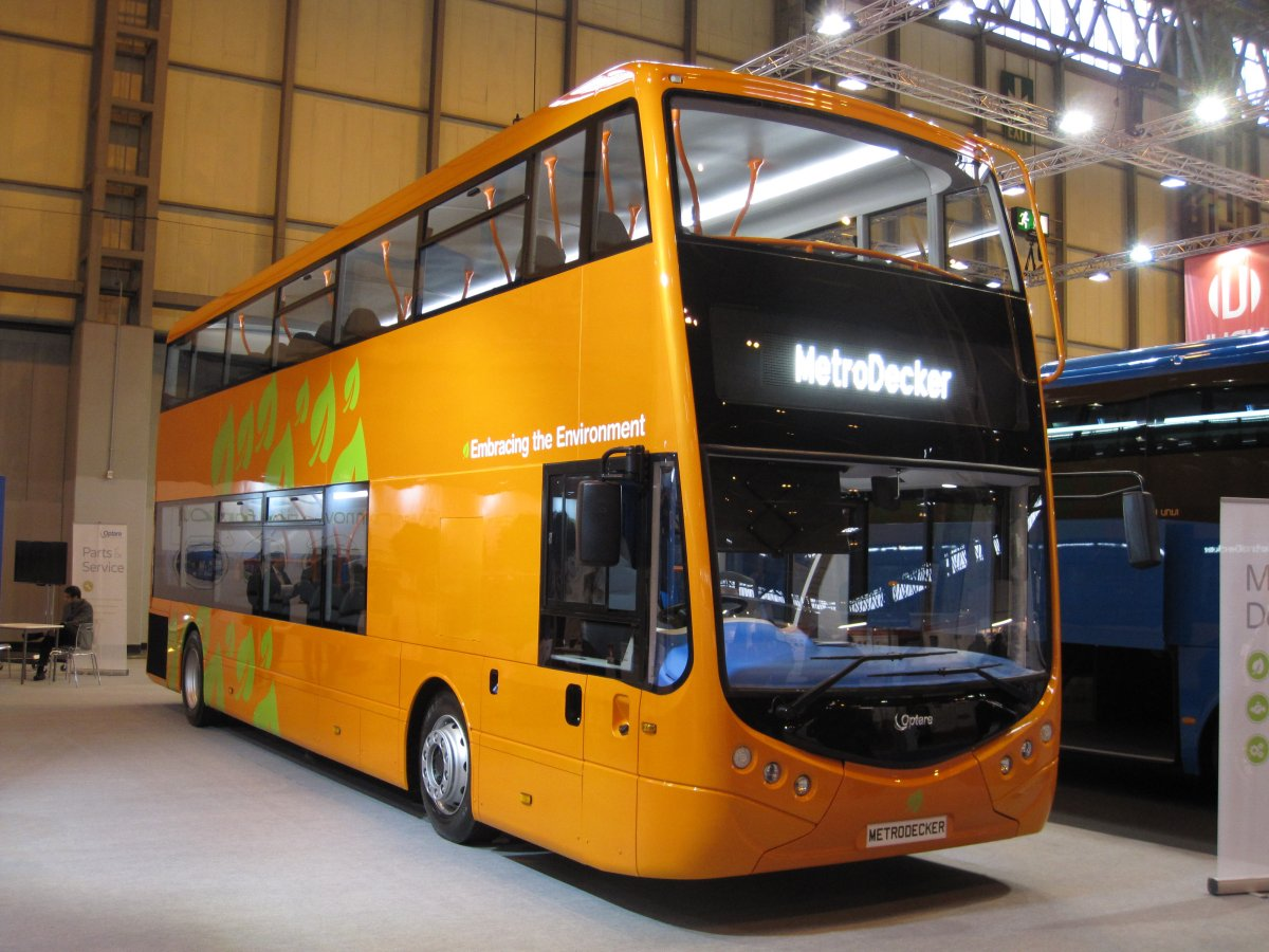 Optare MetroDecker 6 November 2014
