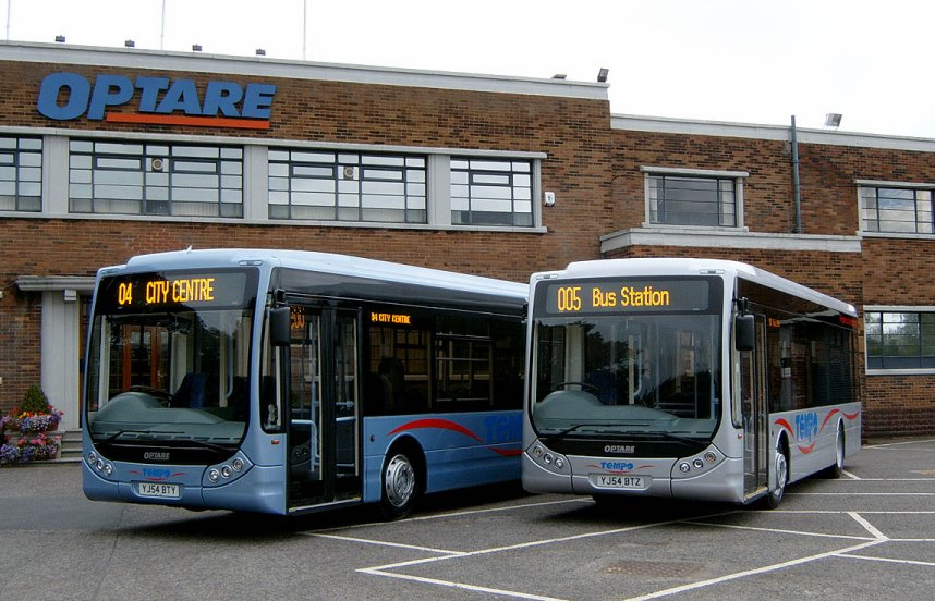Optare Tempo Demonstrators